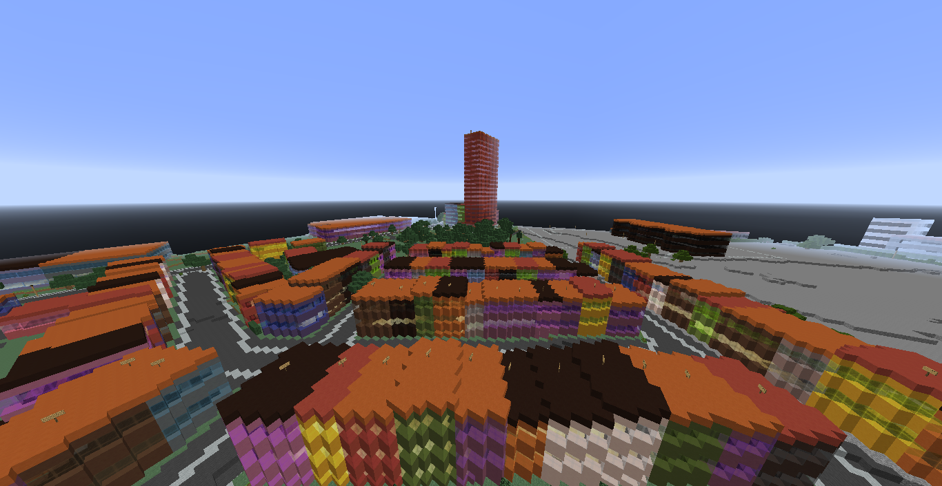 Carlsberg from Denmark in Minecraft