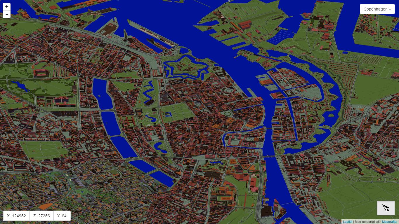 Copenhagen in Minecraft - an overview