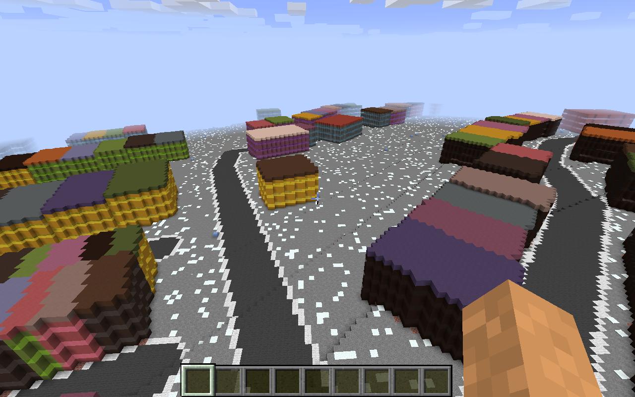 Minecraft map customization - arctic biome