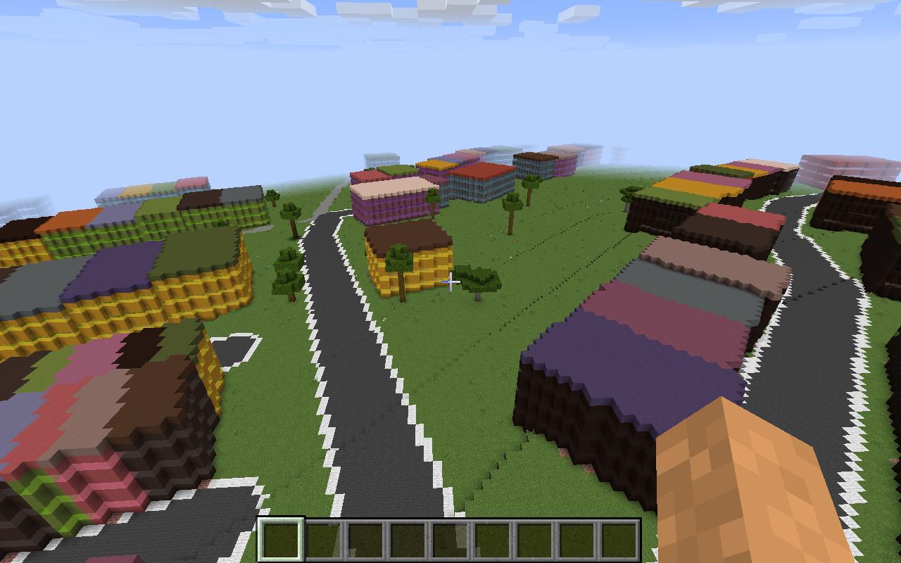 Minecraft map customization - savannah biome