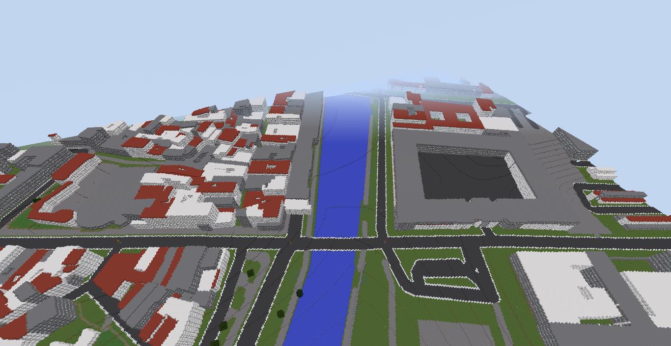 Paris in Minecraft.