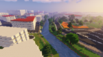 The real world in Minecraft